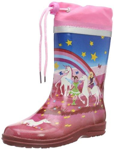 Beck Mädchen Wonderland Schlupfstiefel, Mehrfarbig (multicolor 50), 30 EU