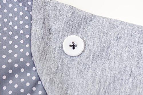 Pullover Elefant Kinder Shirt Mädchen Jungen Größe 92 98 Blau Grau Langer Arm Rüssel Baumwolle Fairtrade Ringelsuse - 2