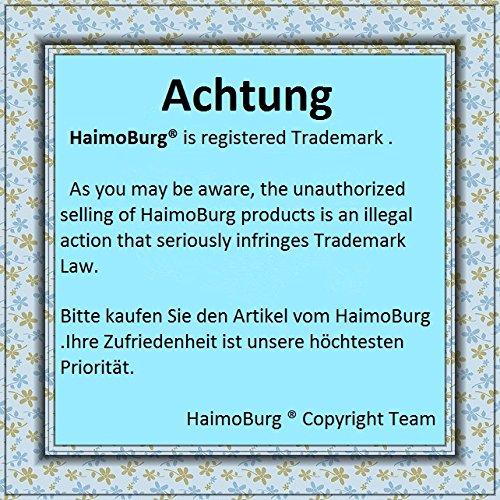 Haimoburg 9 Pack Wasserdicht Babylätzchen Baumwolle Klettverschluss (Jungen 9 Pack) - 3