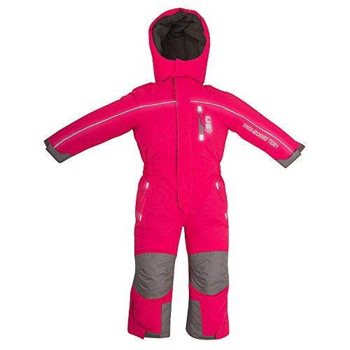 Schneeoverall OUTBURST Overall Kinder skianzug wasserfest Gr. 92 -122 (pink, 104)