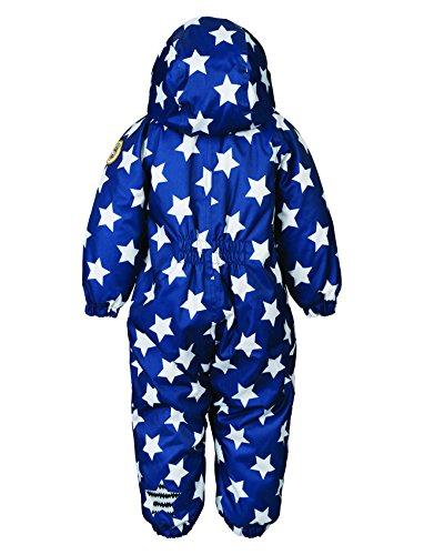 Racoon Baby - Jungen Schneeanzug SKJOLD BABY STAR (9.000 Wassersäule), Sternchen, Gr. 74, Blau (Ensing blue ENS) - 2