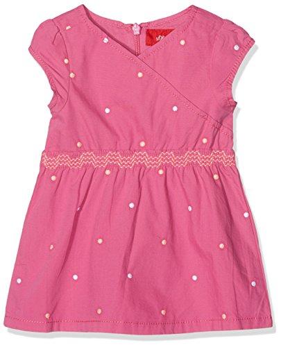 s.Oliver Baby-Mädchen Kleid Kurz, Rosa (Pink Aop 44A6), 80