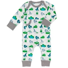 Fresk Pyjama Ekhorn blau - grün