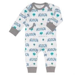 Fresk Pyjama Elefant blau