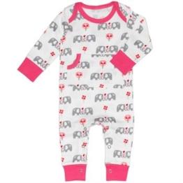 Fresk Pyjama Elefant pink