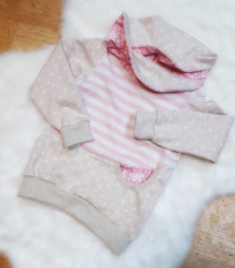 Hoodie Mädchen Pullover Baby Kinder Rosa