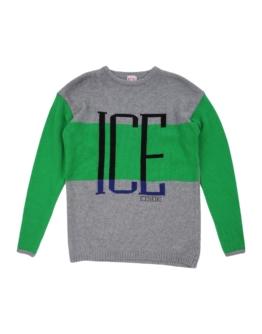 ICE ICEBERG JUNIOR Jungen 9-16 jahre Pullover Farbe Grau Größe 72