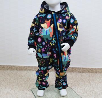 Softshelloverall Anzug Wunschgröße 50-140