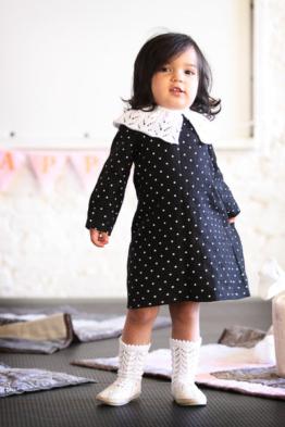 Baby Kleid aus Leinen