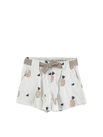 Bellybutton Shorts in Weiß - 27%   Größe 128   Kinderhosen