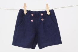 Jungen 92-128 Leinen Shorts kurze Hose Sommerhose