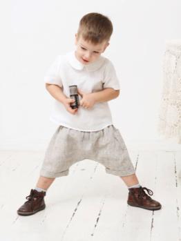 Jungen 98, 104 Haremshorts, Shorts, kurze Hose