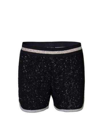 KIDS UP Shorts ´´Laura´´ in Schwarz - 59% | Größe 128 | Babyhosen