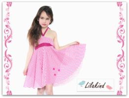 Kleid Sommerkleid zum Binden Gr. 92 - 128
