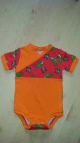 Baby-Body Kurzarm - Shirt Gr.74