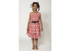 Fair-Trade Kleid Gr. 128 aus Kamerun