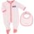 BOSS Kids - Girls Set Schlafanzug und Lätzchen