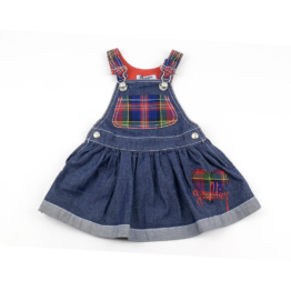 Jean Paul Gaultier Junior Piplette Robe - Baby Jeans Kleid