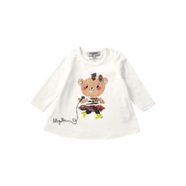 Jean Paul Gaultier Junior T-Shirt - Paix Tee Shirt