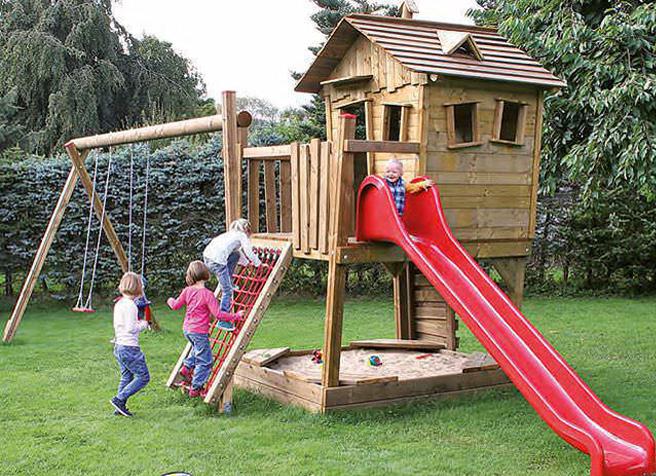 Spielanlage Zauberwald für den privaten Gebrauch jetzt bei Pieperholz kaufen