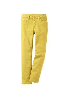 hessnatur Kinder Farbige Jeans aus Bio-Baumwolle – gelb – Größe 110