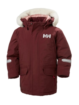 Helly Hansen Daunenjacke in Dunkelrot - 66% | Größe 86 | Kinder outdoor