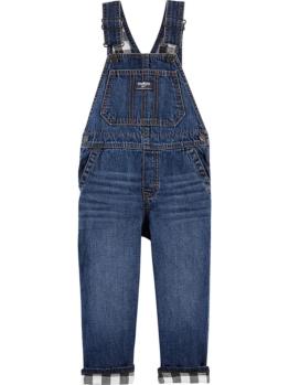 OshKosh Jeans-Latzhose in Blau - 53% | Größe 110 | Kinderhosen