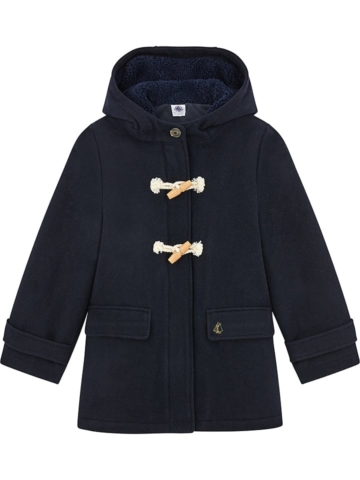 PETIT BATEAU Mantel in Dunkelblau - 49% | Größe 116 | Kinder outdoor