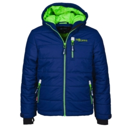 Trollkids Hemsedal Snow Jacket Kinder Ski- und Winterjacke dunkelblau Gr. 110