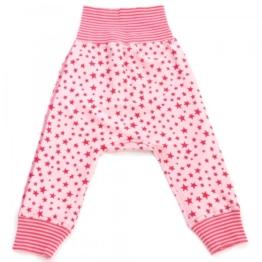 Elli Wunderstücke Baby Pumphose Sterne Rosa/Rot 62