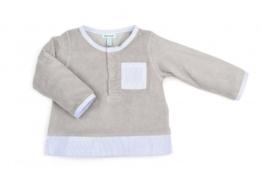 Mini A Ture Pullover Jori in Blau/Grau    56