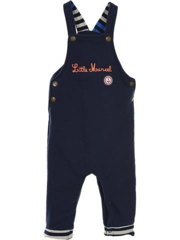 Little Marcel Latzhose in Dunkelblau - 55% | Größe 86/92 | Babyhosen