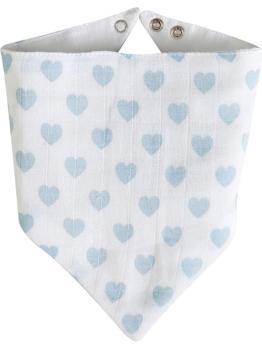 Schardt Dreieckstücher ´´Herzchen´´ in Weiß - 2 Stück - 29% | Babyartikel