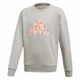 Adidas Pullover - Mädchen - grau in Größe 164