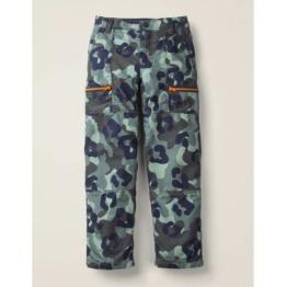 Mini Blau/Grau, Camouflage Gefütterte Skate-Hose Jungen Boden, 152, Grey