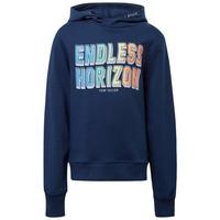 TOM TAILOR Sweatshirt Hoodie mit Print blau 164