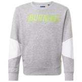 TOM TAILOR Sweatshirt Sweatshirt mit Schrift-Print grau 164