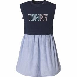 Tommy Hilfiger Kinder Kleid, dunkelblau