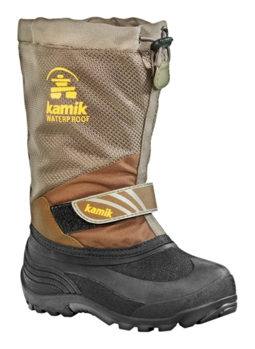 Kamik FreerideX khaki Winterschuhe Kinder
