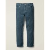 Mini Petrol, Cord Schmal geschnittene Cord-Jeans Jungen Boden, 152, Blue