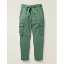 Mini Grün Cargohose Mädchen Boden, 128, Green