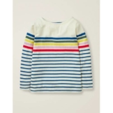 Mini Mehrfarbig Alltagstaugliches Bretonshirt Mädchen Boden, 128, Multi
